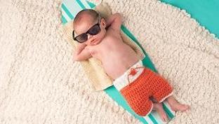 Būtiniausios kūdikių prekės vasarą