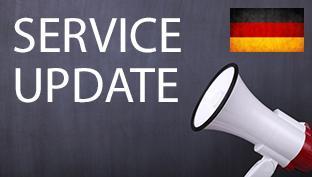 Pranešimas dėl siuntinių Vokietijos adresu
