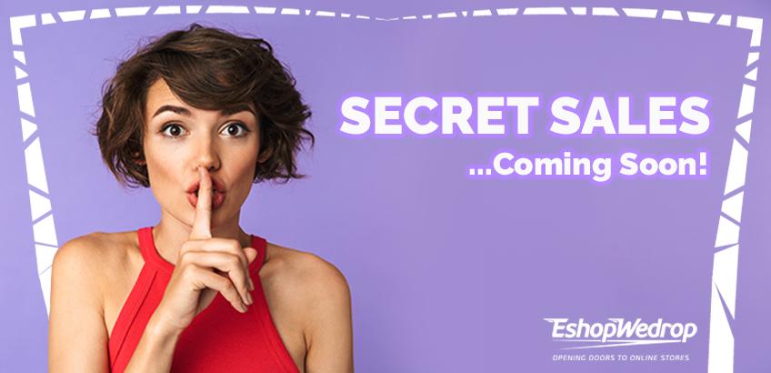 The Secret Sales Event 2019!