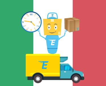 Dėl siuntinių iš Italijos atvykimų tvarkaraščio pasikeitimo