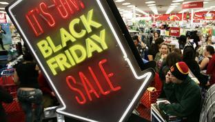 """Black Friday """"Juodasis penktadienis"""" Anglijoje"""