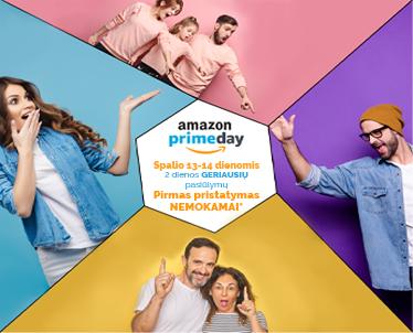 Amazon Prime diena 2020 – Kas tai ir kur rasti geriausius pasiūlymus?