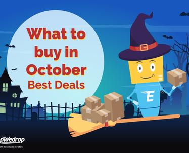Kokius daiktus geriausia pirkti spalio mėnesį – Geriausi pasiūlymai