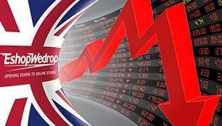Žemiausias Anglijos svaro kursas per pusę metų
