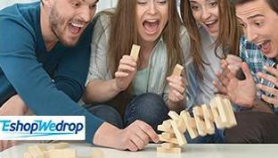 Stalo žaidimų vakaras su šeima ar draugais