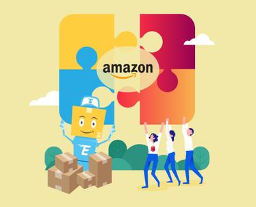 Palyginkite Amazon kainas